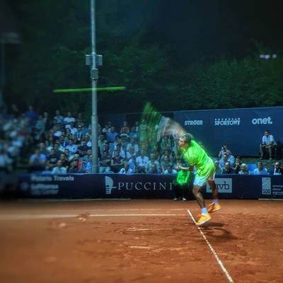 230km/h fast enough ? #janowicz #pekao #szczecin #open #tennis #babolat #game #iphone #oloclip #twoshots