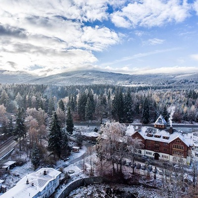 Szklarska Poręba / Poland #dji #phantom #aerial #drone #winter #time #mountains #poland