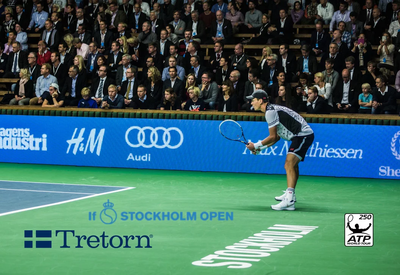 Tretorn at If Stockholm OPEN 2014 - ATP World Tour 250